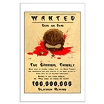 Cannibal Tribble Wanted Poster Large Poster
