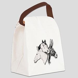 All Three Canvas Lunch Bag