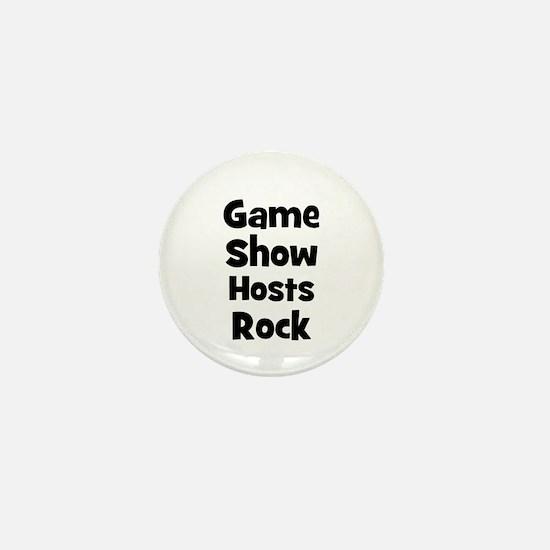 GAME SHOW HOSTS Rock Mini Button