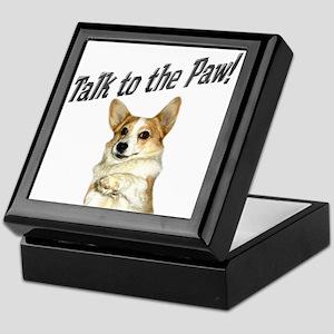 Talk to the Paw! Little Dott Keepsake Box