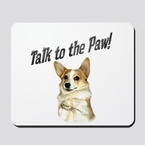 Talk to the Paw! Little Dott Mousepad