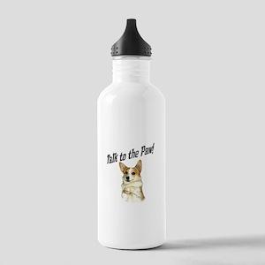 Talk to the Paw! Little Dott Stainless Water Bottl