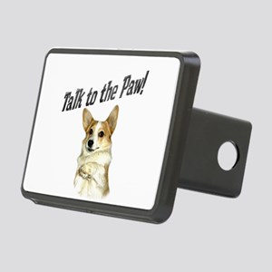Talk to the Paw! Little Dott Rectangular Hitch Cov