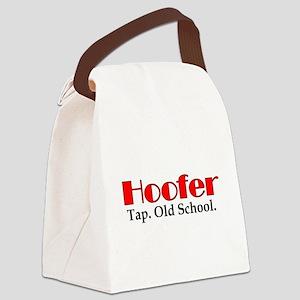 Hoofer Tap Canvas Lunch Bag