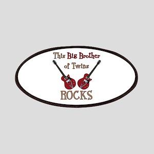 Big Bro Rocks Twins Patches