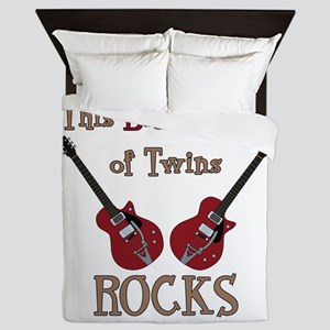 Big Bro Rocks Twins Queen Duvet