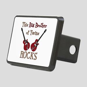 Big Bro Rocks Twins Rectangular Hitch Cover
