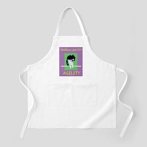 Sheltie Agility BBQ Apron