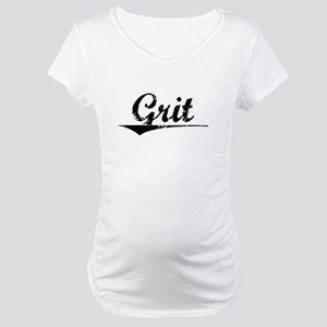 Grit, Vintage Maternity T-Shirt