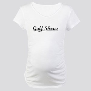 Gulf Shores, Vintage Maternity T-Shirt