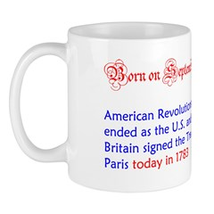 Mug: American Revolutionary War ended as the U.S.