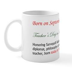Mug: Teacher's Day in India Honoring Sarvepalli Ra