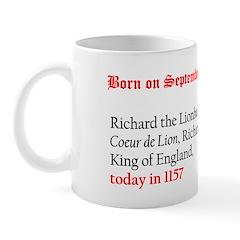 Mug: Richard the Lionheart, Coeur de Lion, Richard