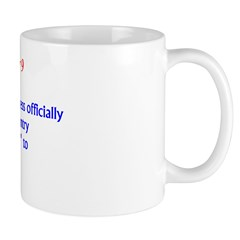Mug: Continental Congress officially renamed their