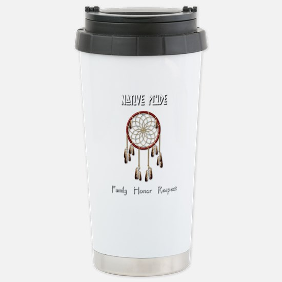 Native Pride Stainless Steel Travel Mug