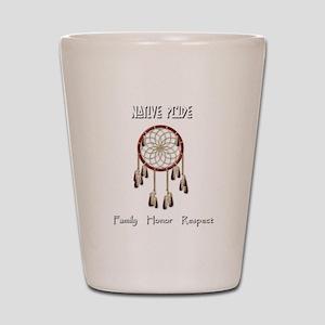 Native Pride Shot Glass