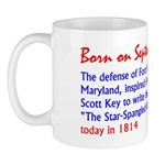 Mug: Defense of Fort McHenry, MD, inspired Francis