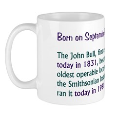 Mug: John Bull, first operated in 1831, became old