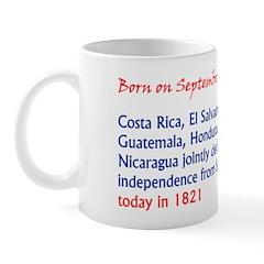 Mug: Costa Rica, El Salvador, Guatemala, Honduras,