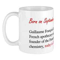 Mug: Guillaume François Rouelle, French apothecary