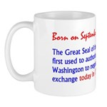 Mug: Great Seal of the U.S. was first used to auth