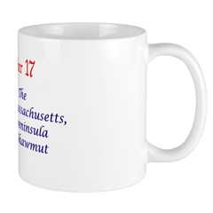 Mug: Boston, Beantown, The City on a Hill, Massach