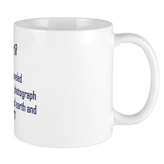 Mug: Voyager I spacecraft snapped the first photog