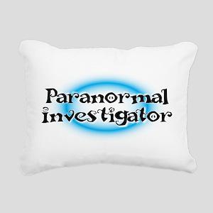 Paranormal investigator Rectangular Canvas Pillow