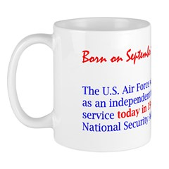 Mug: U.S. Air Force was created as an independent