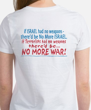 Stand with Israel Pocket Women's T-Shirt