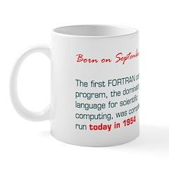 Mug: First FORTRAN computer program, the dominatin