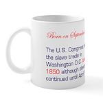 Mug: U.S. Congress abolished the slave trade in Wa
