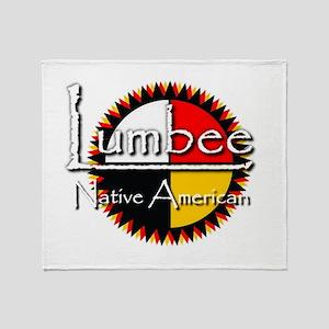 Lumbee Throw Blanket