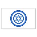 Captain Israel Sticker (Rectangle 50 pk)