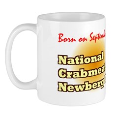 Mug: Crabmeat Newberg Day