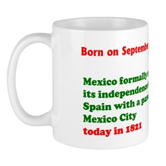Mug: Mexico formally marked independence from Spai