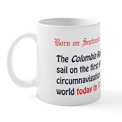 Mug: Columbia Rediviva set sail on the first Ameri