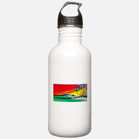 Touch of Paradise Water Bottle