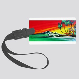 Touch of Paradise Large Luggage Tag