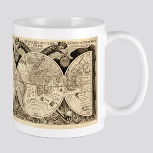 Vintage Old World Map - 1630 Mug