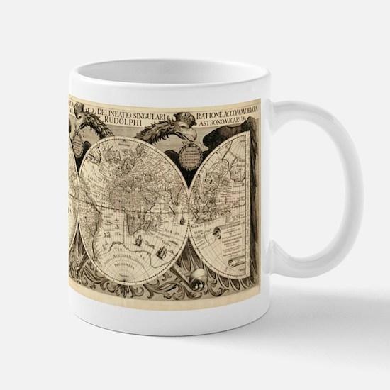 Vintage Old World Map - 1630 Mug