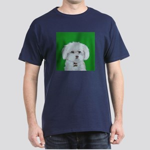 """Maltese Terrier"" Dark T-Shirt"