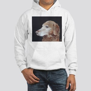 """Golden Retriever"" Hooded Sweatshirt"