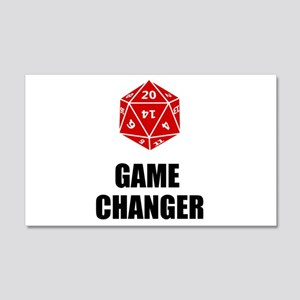 Game Changer 20x12 Wall Decal