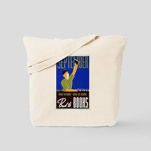 Back to School WPA Tote Bag