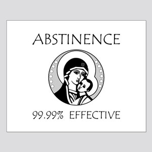 Abstinence Effective Small Poster