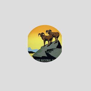 National Parks: Preserve Wild Life Mini Button