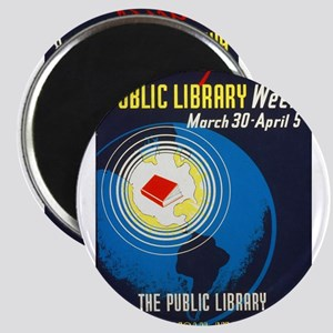 Public Library: An American Institution Magnet