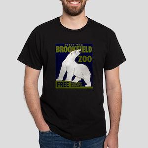 Vintage Visit the Zoo Dark T-Shirt