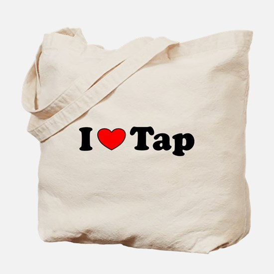 I Heart Tap Tote Bag